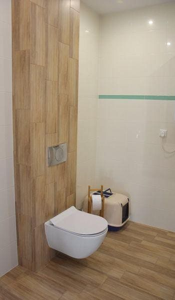 łazienka wykończenie ścian
