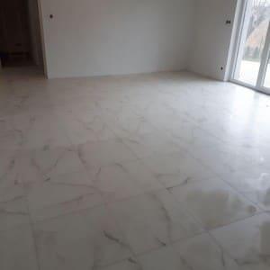 pokój podłoga