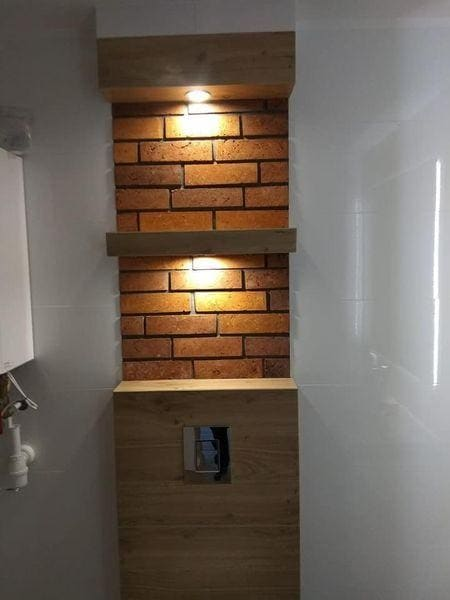 oświetlenie w łazience dekoracyjne