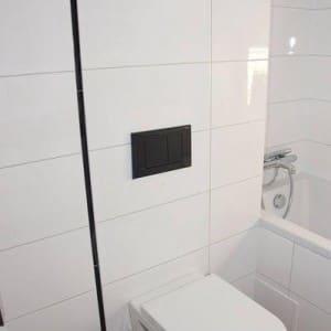 montaż zabudowy toalety