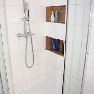 prysznic wykończenie