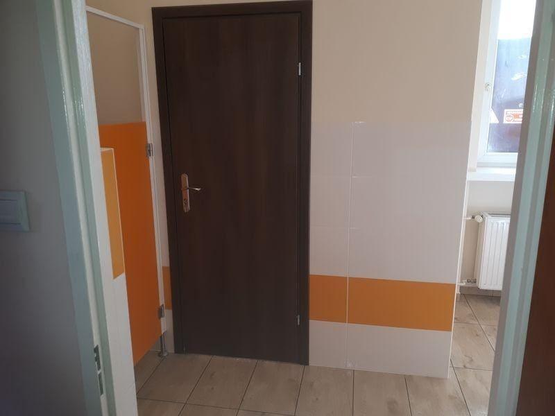 Łazienka drzwi