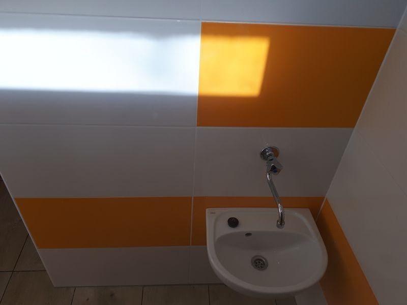 Łazienka ściana wykończenie