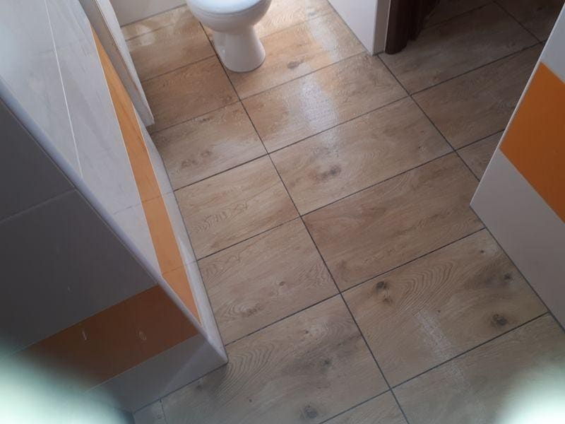 terakota łazienki