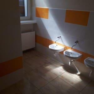 Łazienka umywalki